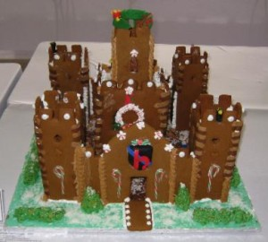 spectacular gingerbread house
