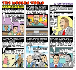 gun rights tom tomorrow cartoon