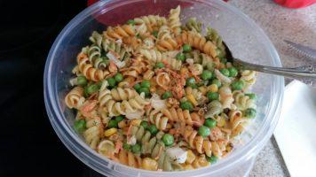 My favorite #vegan macaroni salad