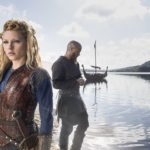 Lagertha and Ragnar as depicted in History's 'Vikings'