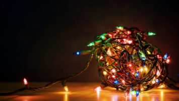 Dragons vs Christmas (Lights) #flashfic #amwriting