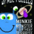 Minkie Monster and the Birthday Surprise (A picture book with puzzles)