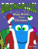 Minkie Monster Saves Christmas (A picture book with puzzles)