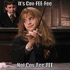 Harry potter, covfefe, new words, donald trump