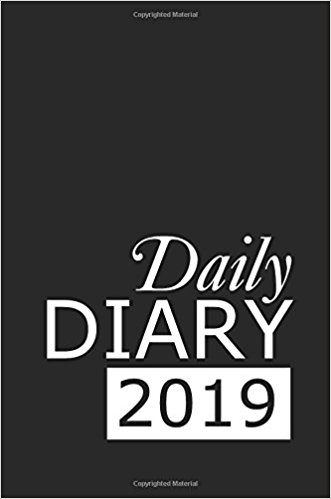 Daily Diary 2019: 365 Day Tabbed Journal January – December (Clark Diaries & Journals)