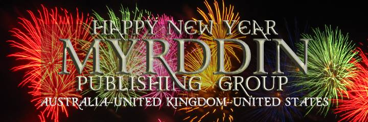 Myrddin Publishing Group New Years Eve 2014 Party Banner