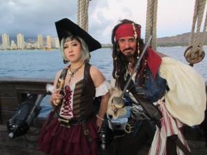 Gypsy as Jack and friend Jen