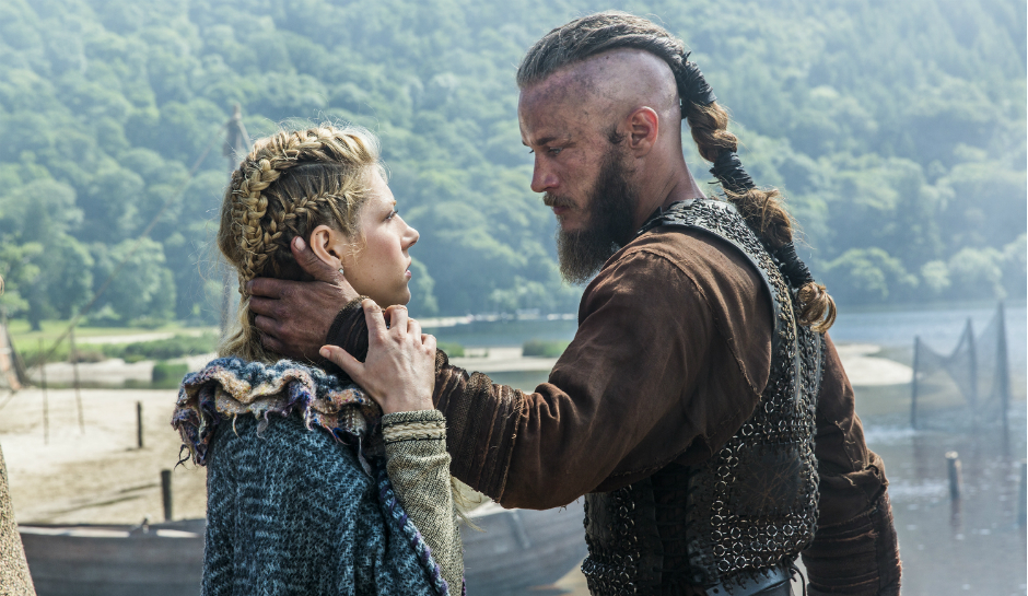 Ragnar and Lagertha as depicted in History's 'Vikings'